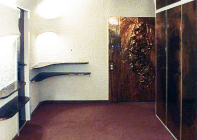 1986 – Appartement. Genève. Suisse.