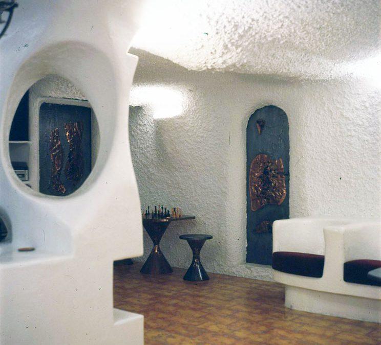 1974 – Salle de séjour. Chambésy. Suisse.
