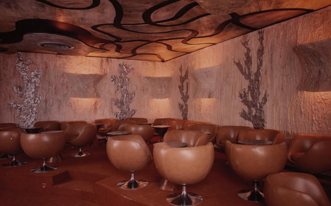 1971 – Bar dans un hôtel. Genève. Suisse.