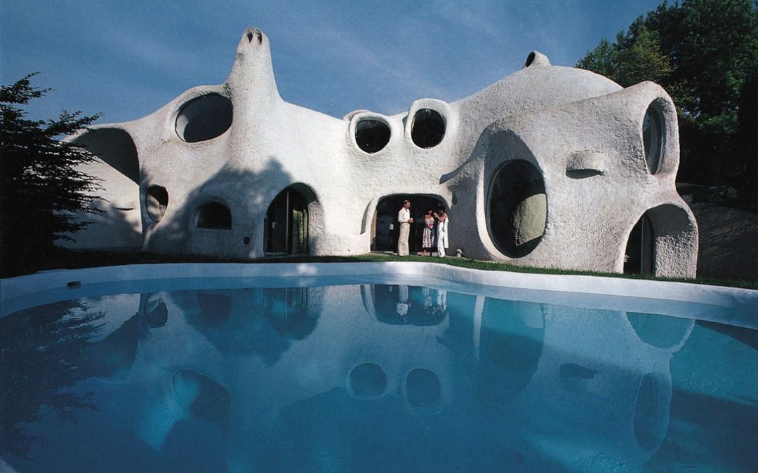 1972 – Villa privée avec piscine. Anières. Suisse.