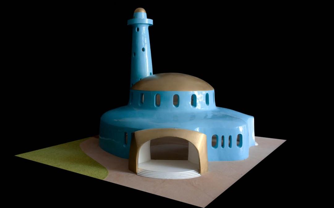 1994 – Mosquée bleue. Projet privé. Arabie-Saoudite.