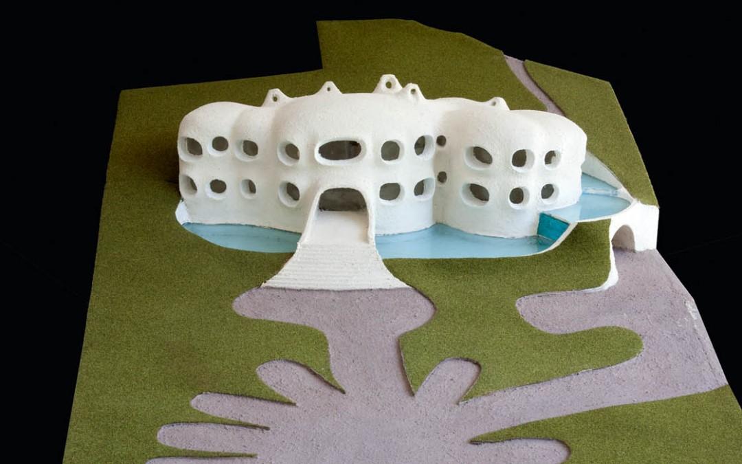 1974 – Villa pour un constructeur de piscines. Gex. France.
