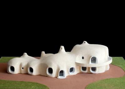 1969 – Grande villa avec piscine. Premier projet. Aux environs de Cannes. France.