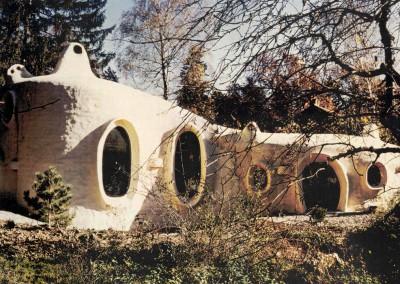 1976 – Villa familiale à double-coque. Conches. Genève. Suisse.