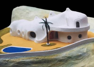 1998 – Villa familiale. Bouzedjar. Algérie.