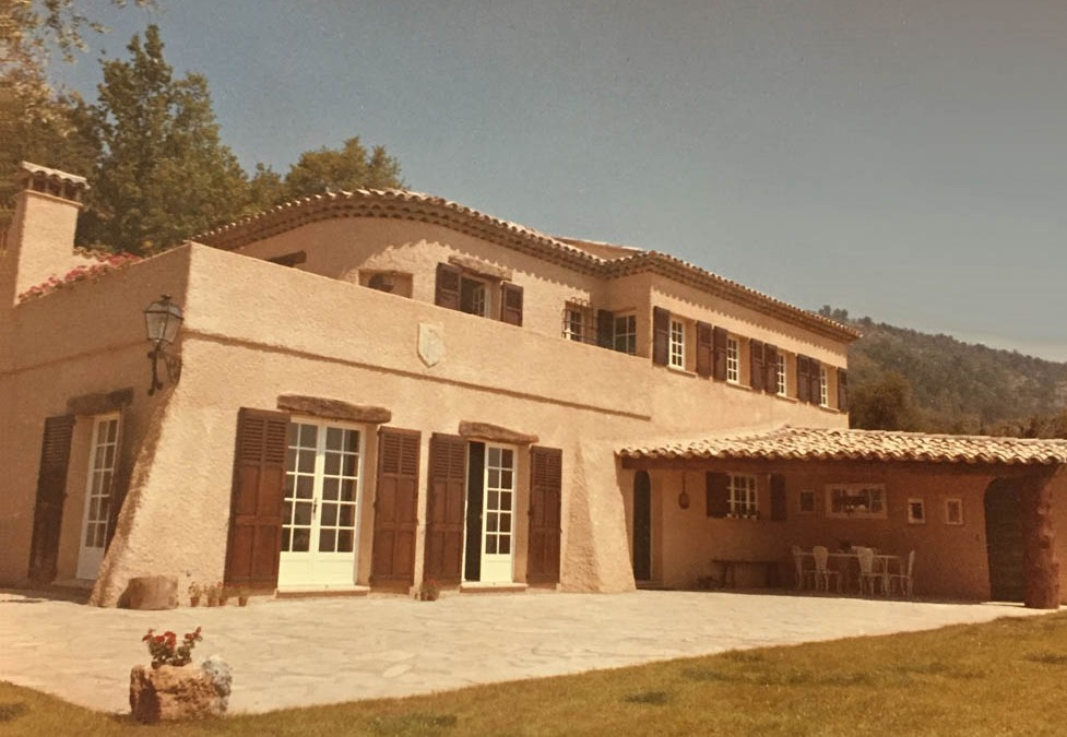 1966 – Villa privée. Le Tignet. France.