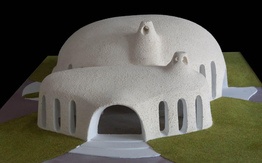 2002 – Salle polyvalente pour le complexe touristique de Bouzedjar. Algérie.