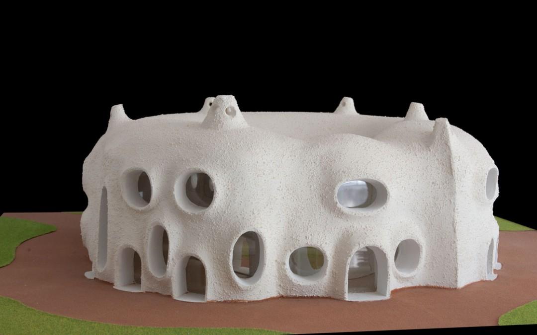 2000 – Complexe d'habitations avec petite cour intérieure. Environs de Nice. France.