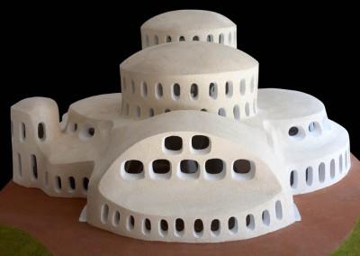 1998 – Complexe administratif et culturel pour l'Algérie.
