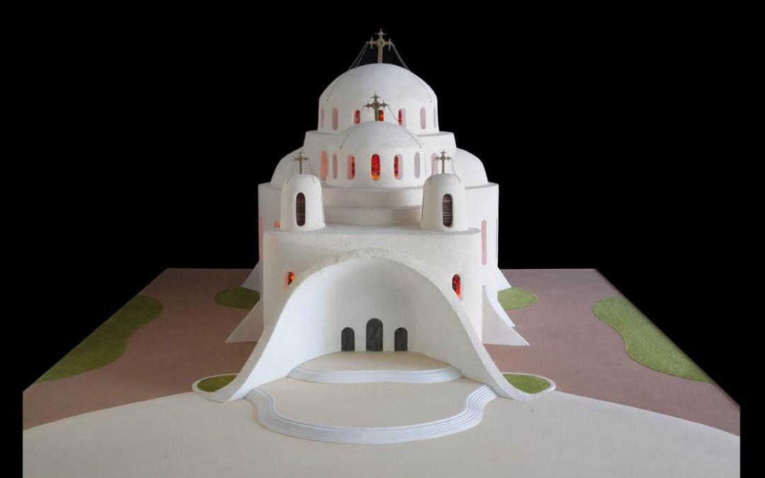 1999 – Cathédrale de Bucarest. Projet-concours.