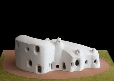 1995 – Villa familiale pour le promoteur du complexe de Bouzedjar. Algérie.