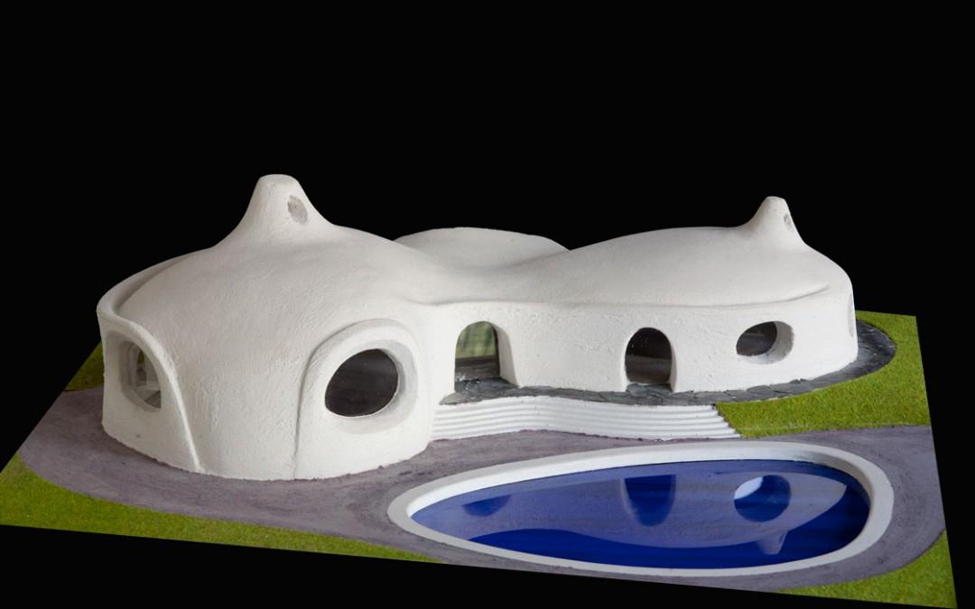1996 – Villa avec piscine. Aux environs de Théoule. France.