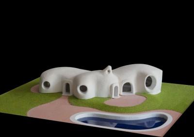 2007 – Villa avec atelier pour un peintre. Vallauris. France.