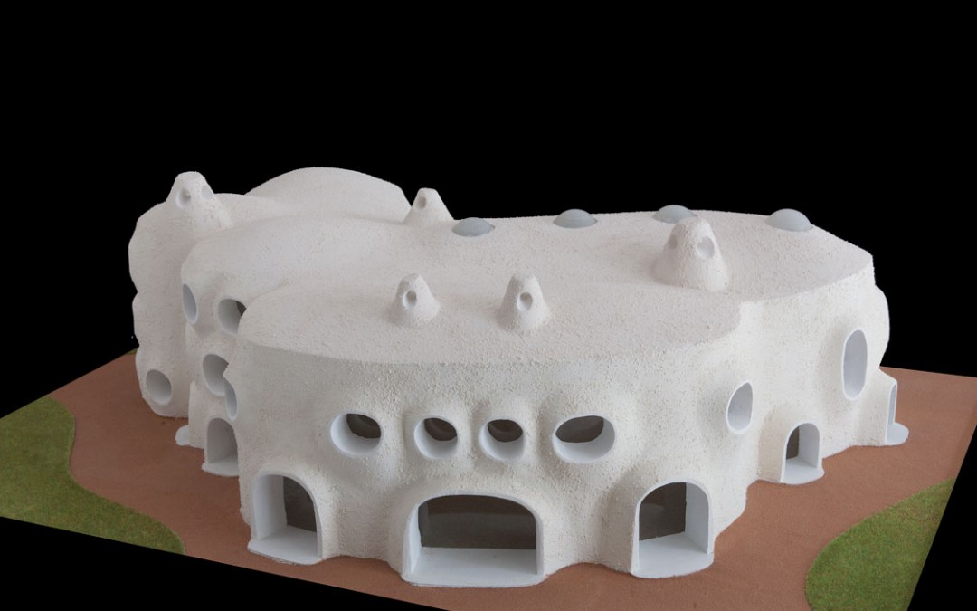 2007 – Centre de recherche pour l'architecture. Troisième projet. Pays de Gex. France.