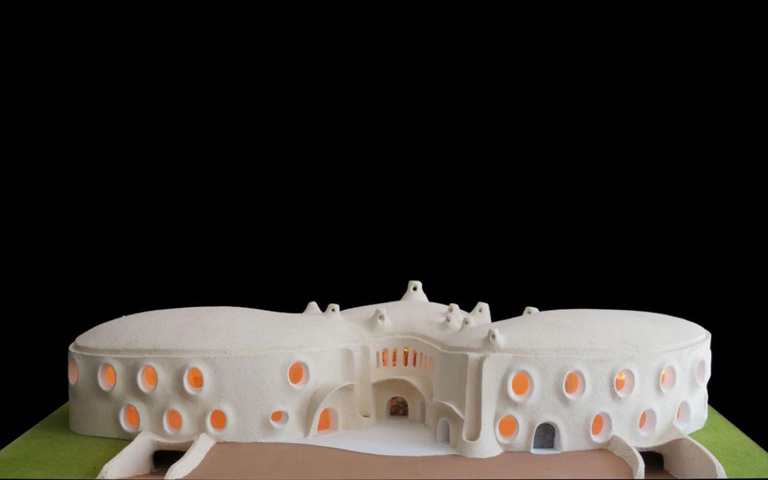 2001 – Centre de recherche pour l'architecture. Premier projet. Pays de Gex. France.