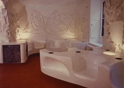 1973 – Bureau-salon. Genève. Suisse.