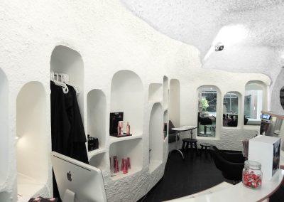 1977 – Salon de coiffure. Genève. Suisse
